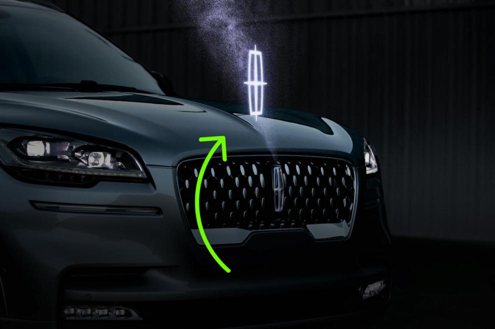 На Ford и Lincoln появятся голографические логотипы