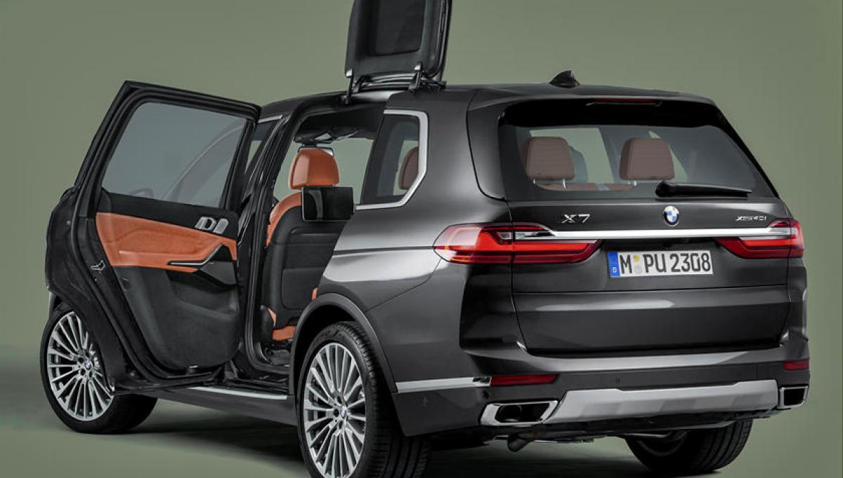BMW запатентовала двери-крылья для будущих внедорожников