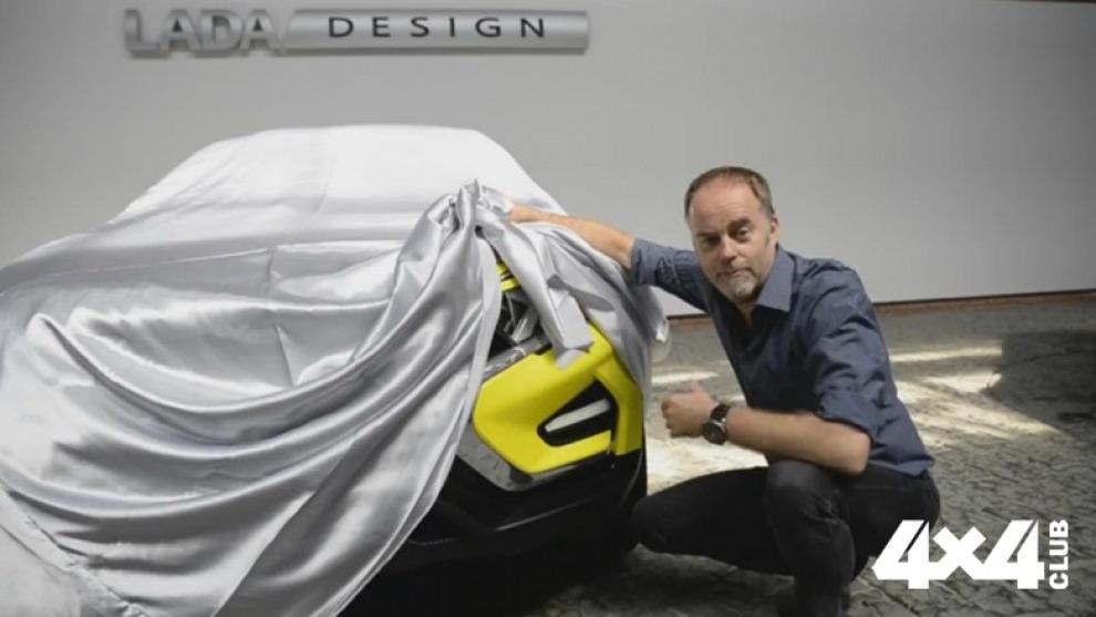 Дизайнер «АвтоВАЗа» показал фрагмент вседорожного концепта