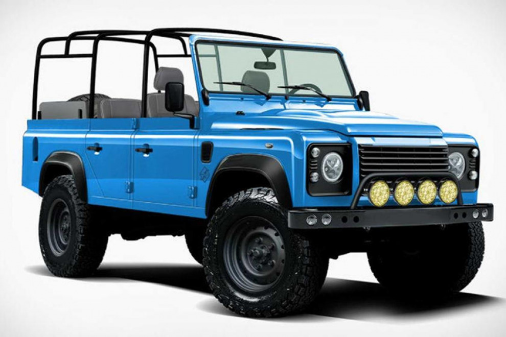 Этот Land Rover Defender на самом деле Jeep Wrangler