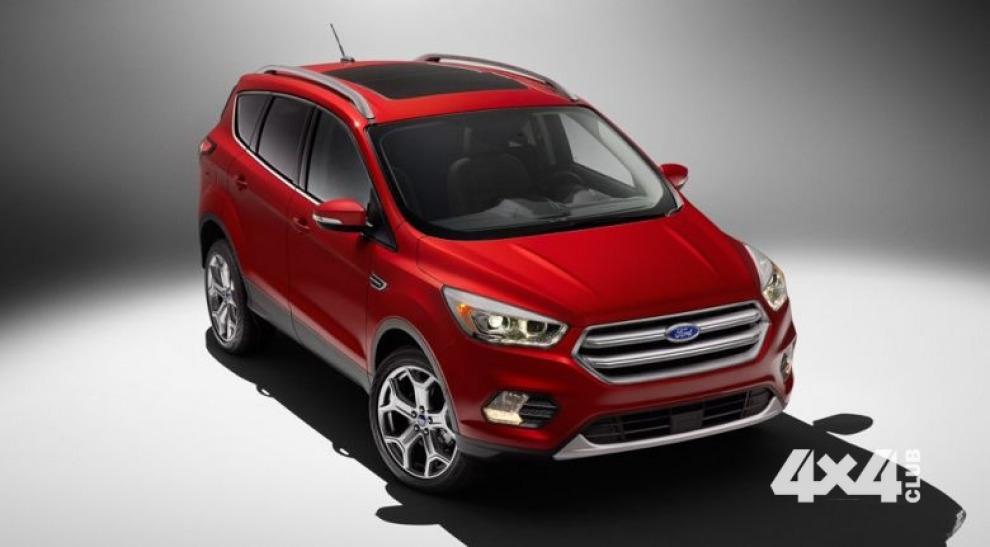 Американцы обновили Ford Escape