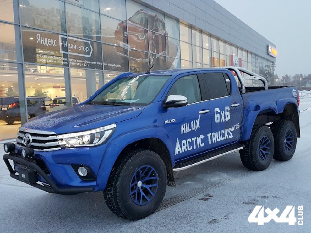 Toyota Hilux AT35 6x6 от Arctic Trucks Россия