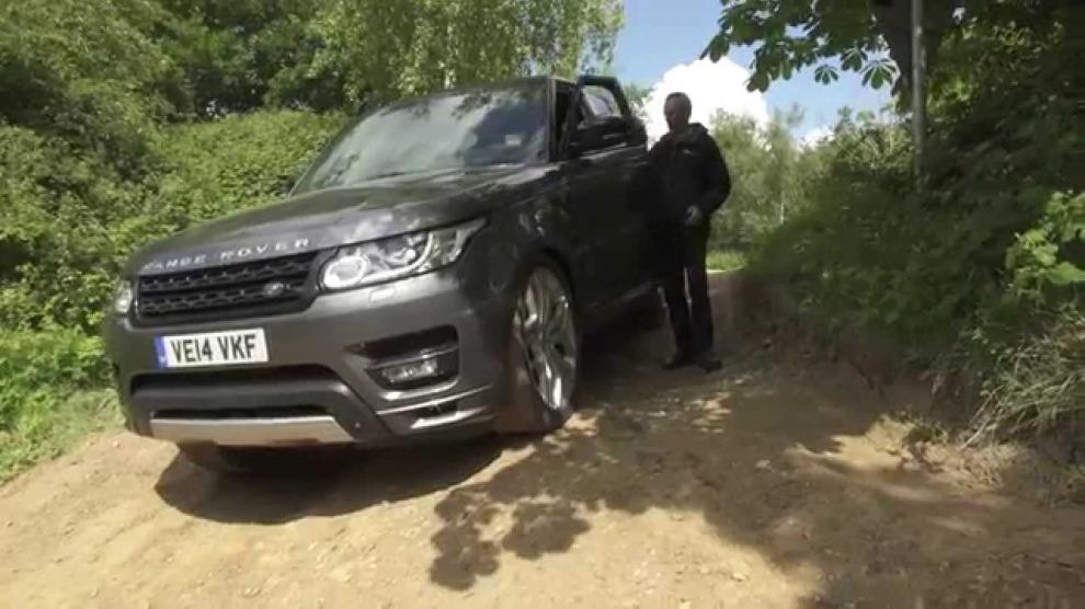 Range Rover Sport с дистанционным управлением