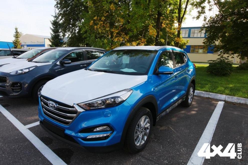 В России начали выпуск нового кроссовера Hyundai