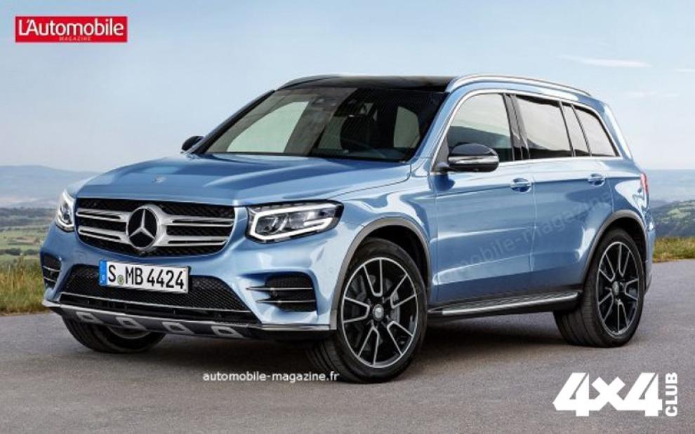 Mercedes разрабатывает еще один внедорожник