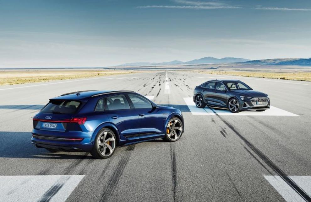 Audi привезла в Россию быстрые e-tron