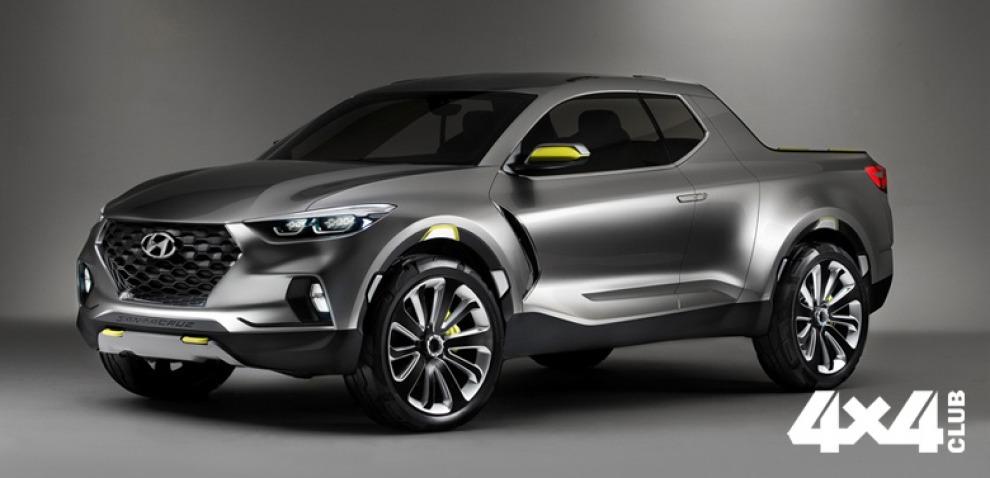Компания Hyundai отложила выпуск пикапа до 2020 года