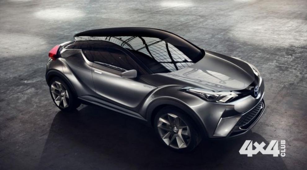 Toyota показала C-HR версии 2.0