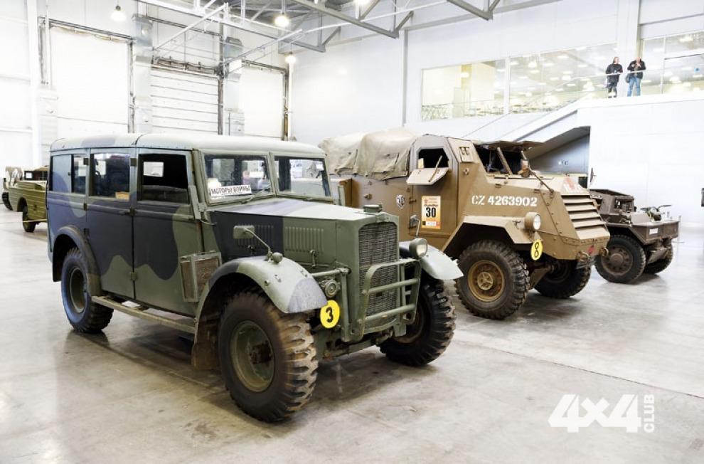 Прототип легендарного ГАЗ-64 и другая техника Второй мировой войны под сводами «Крокус Экспо»