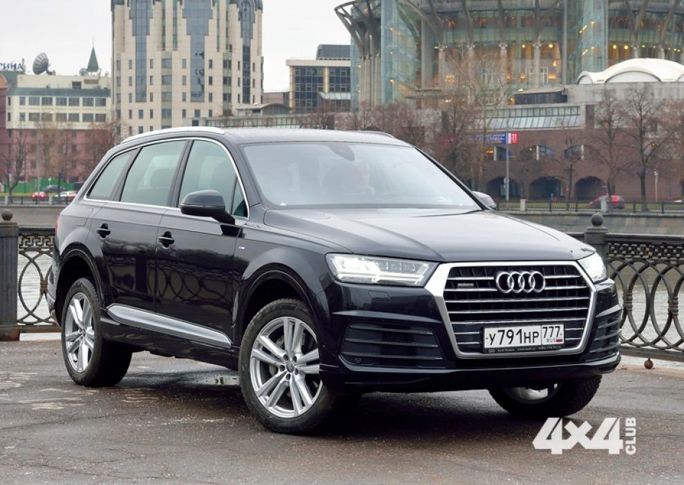 Audi Q7 второго поколения постарались построить стильным, роскошным, экологичным и удобным