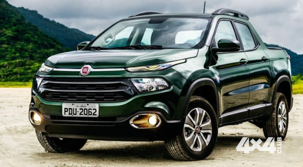 Fiat начинает продажи пикапа Toro