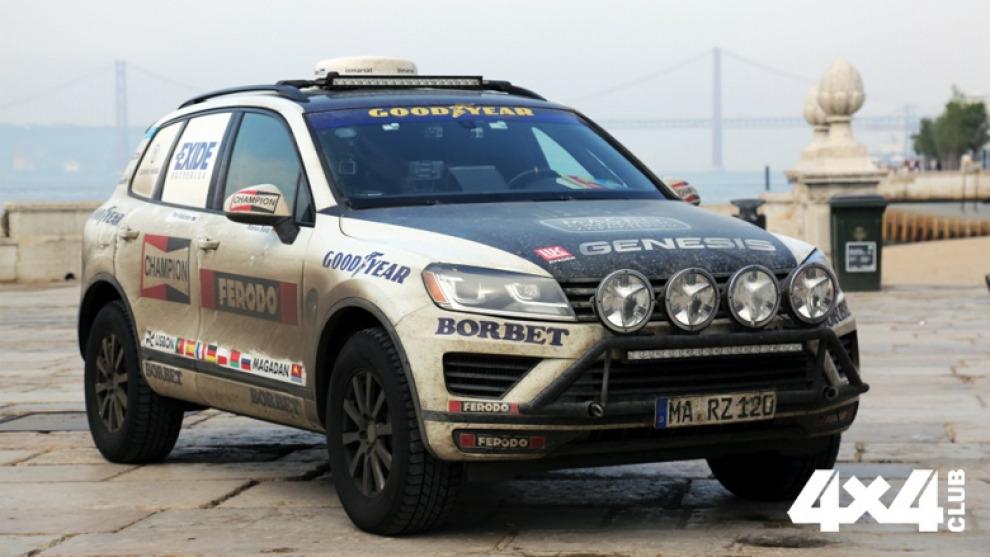 VW Touareg проехал от Магадана до Лиссабона за шесть дней