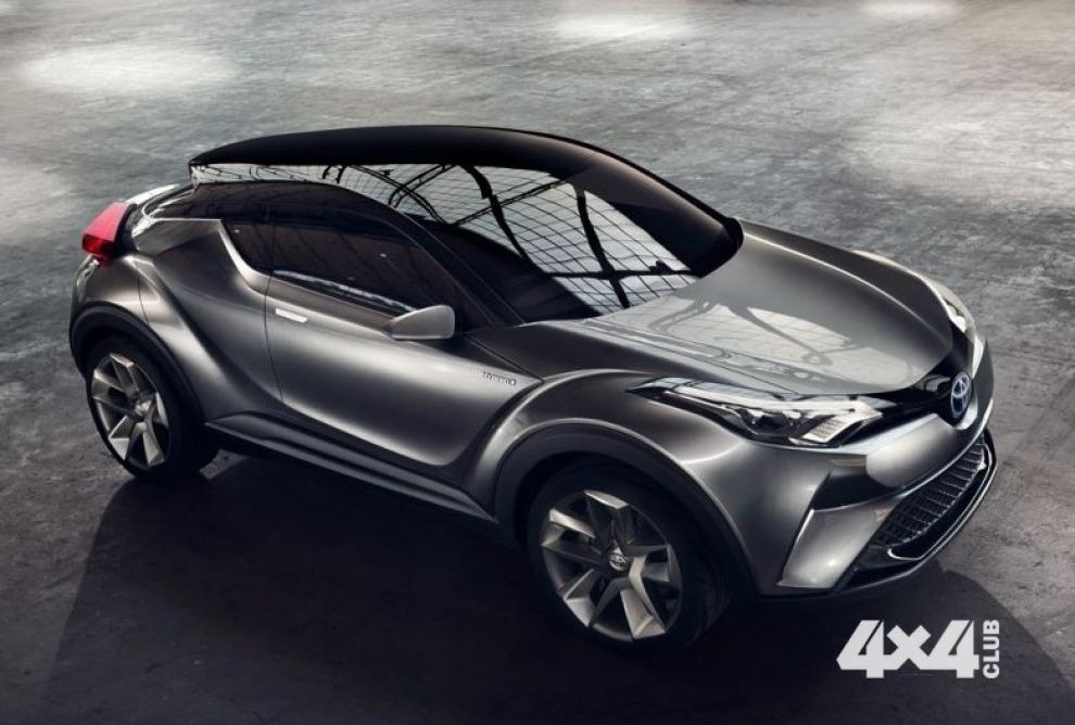 Toyota C-HR представят в Женеве