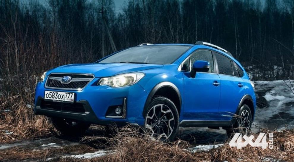 Обновленный Subaru XV приехал в Россию