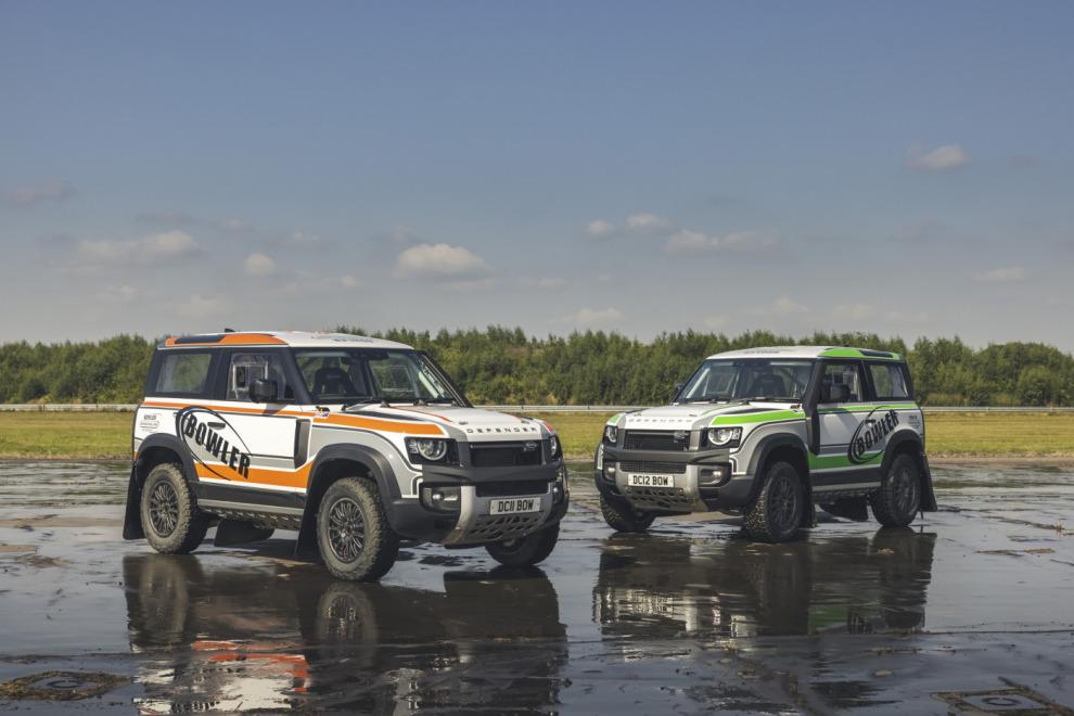 Bowler сделал раллийный болид из Land Rover Defender 90
