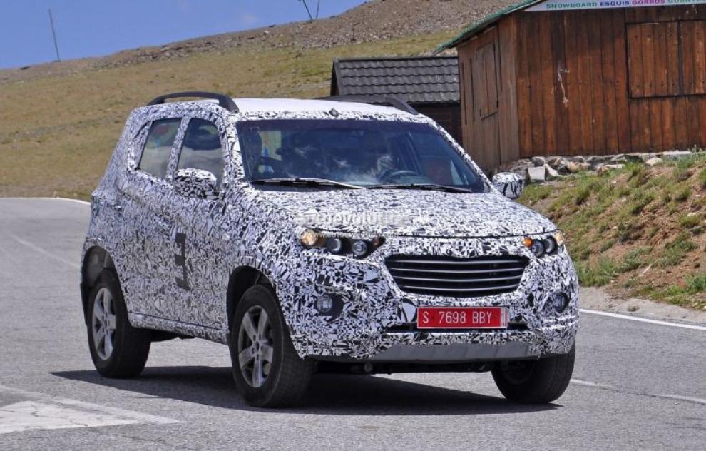 Новая Chevrolet Niva замечена во время тестов в Европе