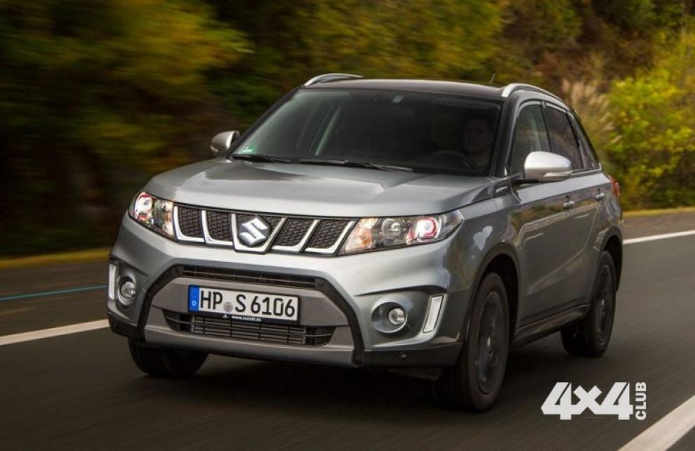Suzuki Vitara S появится в России в апреле