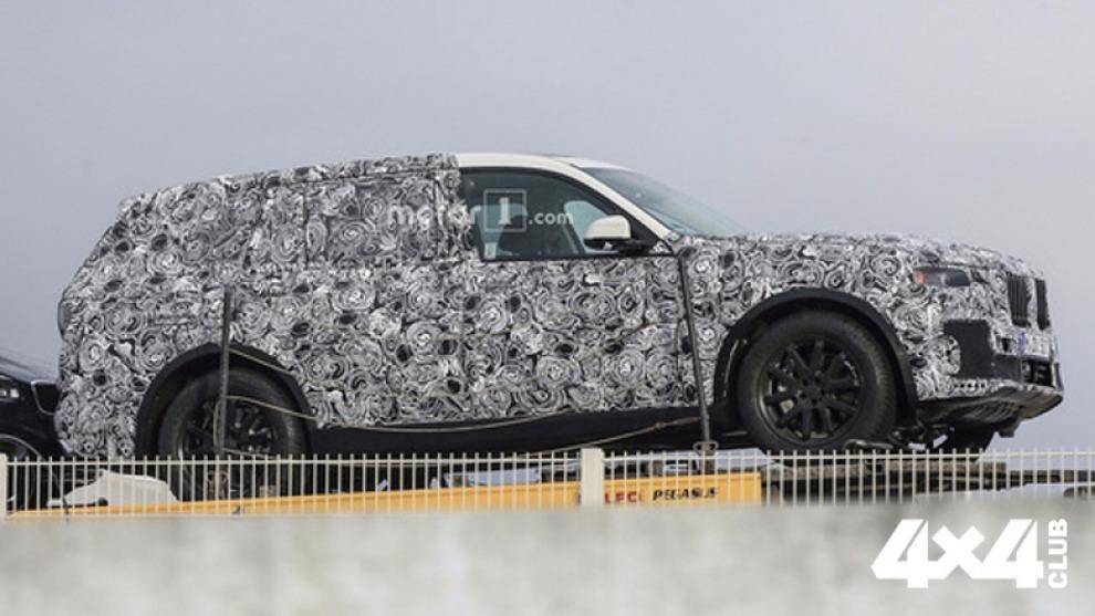 Шпионы сфотографировали самый большой кроссовер BMW