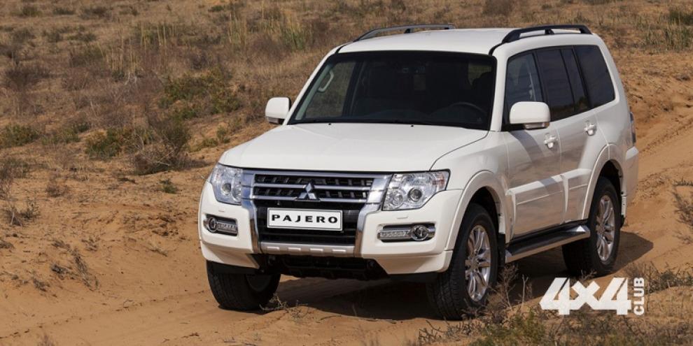 Mitsubishi Pajero еще задержится на российском рынке