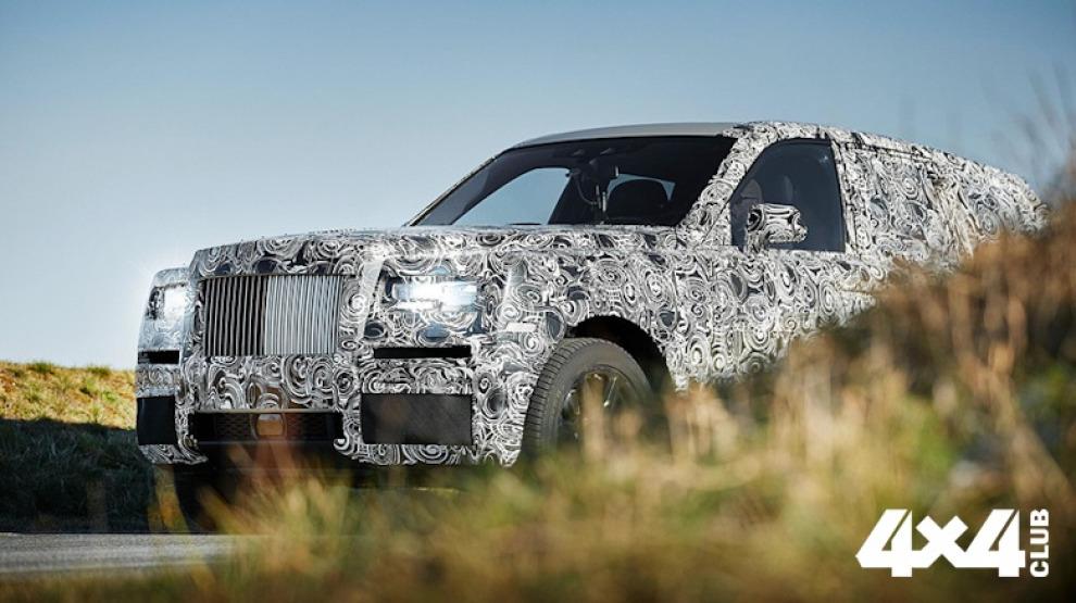 Rolls-Royce рассекретил кузов своего внедорожника