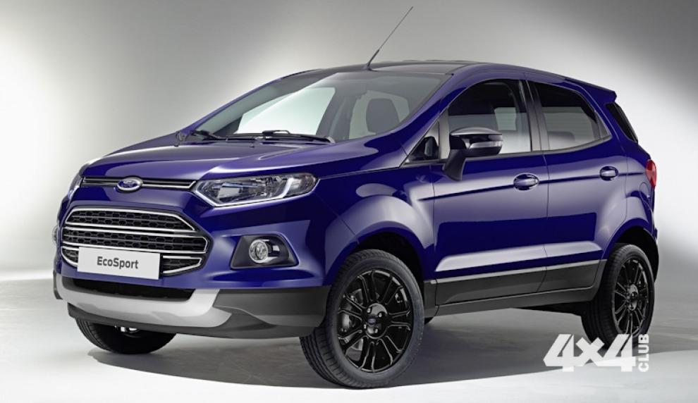 Ford снова обновит свой самый маленький кроссовер