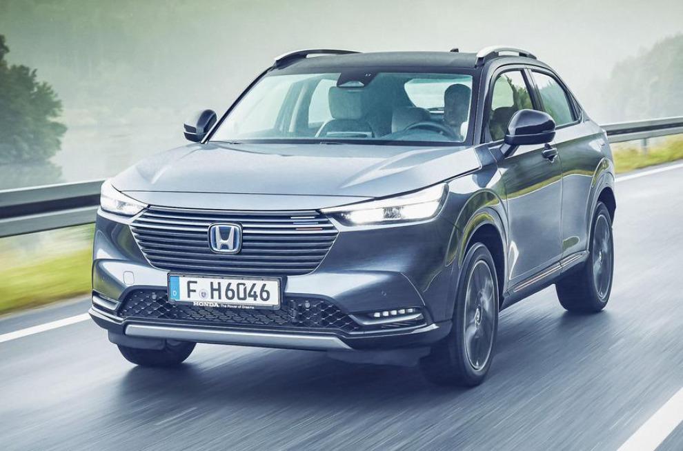 Гибридный кроссовер Honda HR-V нового поколения дебютировал в Европе