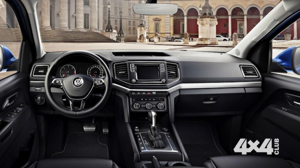 Volkswagen перестал скрывать интерьер обновленного Amarok