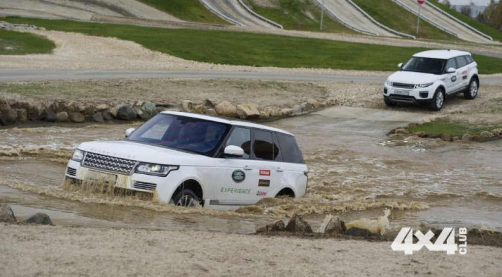 В Подмосковье открылся самый большой полигон Jaguar Land Rover Experience