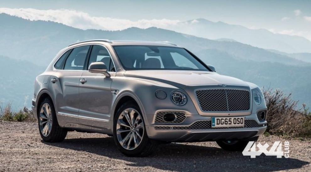 Bentley собирает Bentayga для россиян