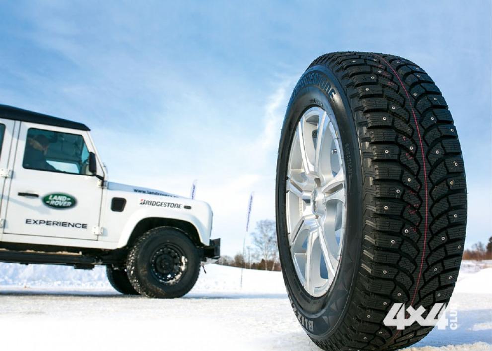 Проверка в деле новых зимних шин Bridgestone для внедорожников и кроссоверов