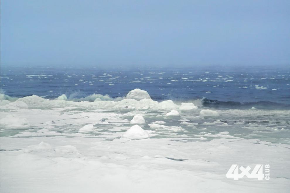 Зимний Полуостров Рыбачий – не слишком гостеприимная земля для туристов