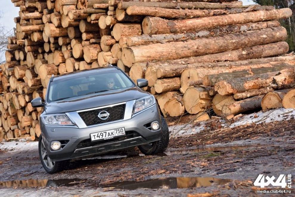 Тест-драйв нового Nissan Pathfinder