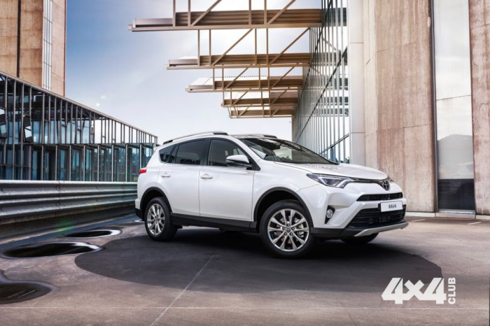 Toyota начинает прием заказов на новый RAV4