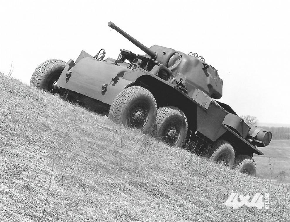Военные вездеходы с колесной формулой 8x8