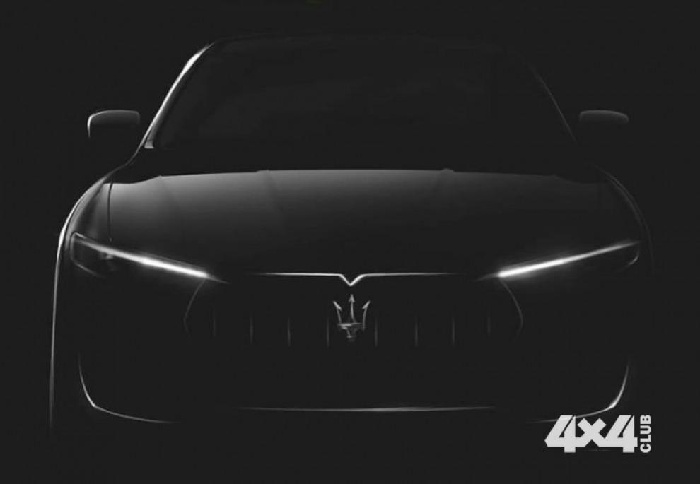 Maserati привезет Levante в Женеву