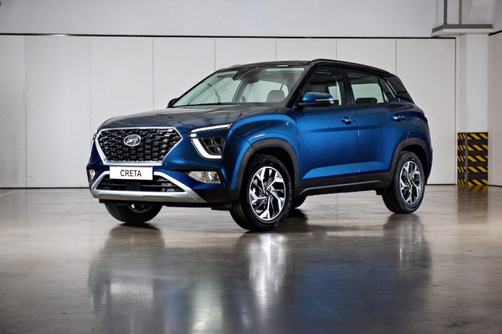 Hyundai Creta второго поколения приехал в Россию с незначительными доработками