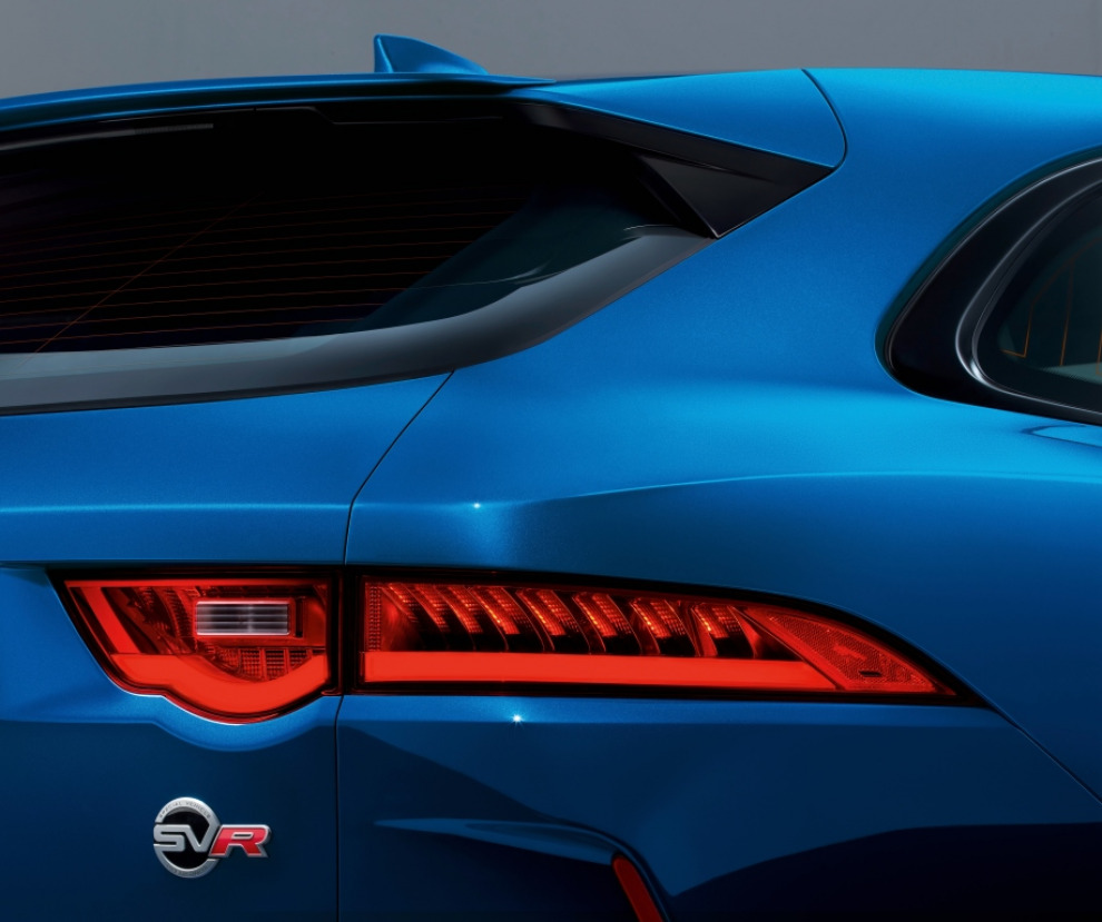 Jaguar F-Pace SVR. Кот под валерьянкой