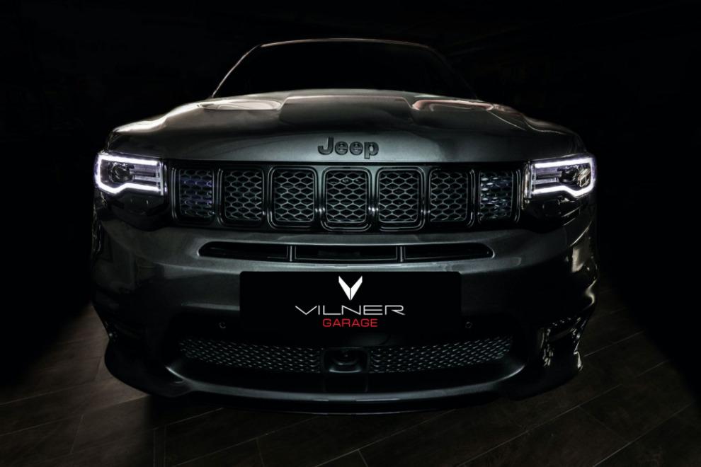 Посмотрите, что в Vilner сделали с Jeep Grand Cherokee SRT
