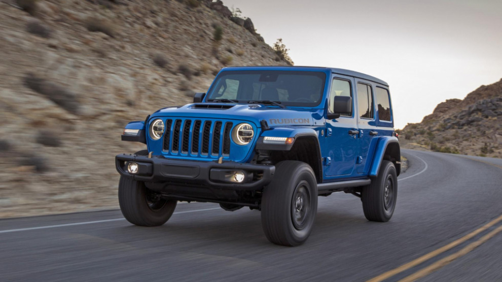 У Jeep Wrangler появилась версия с V8 - Rubicon 392
