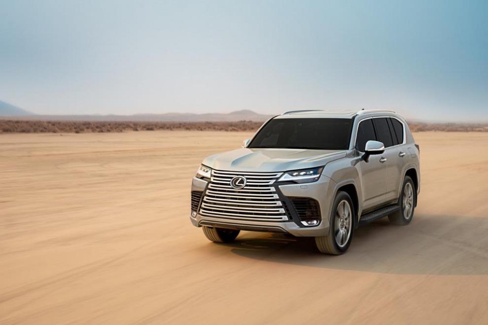 Lexus явил миру новое поколение внедорожника LX