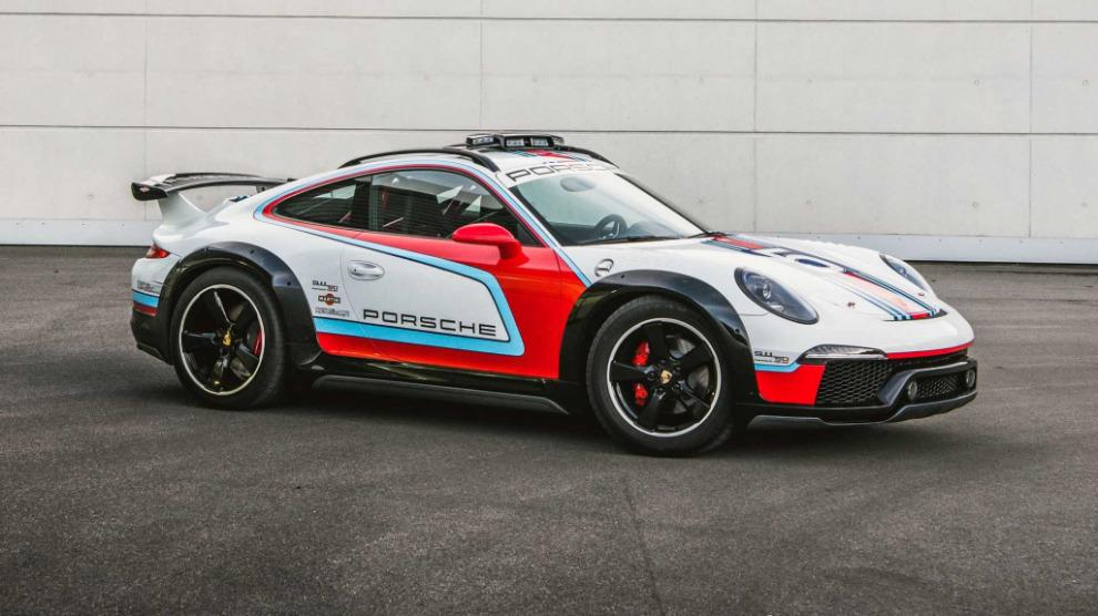 Porsche много лет держала в секрете 911 Safari и Macan Safari