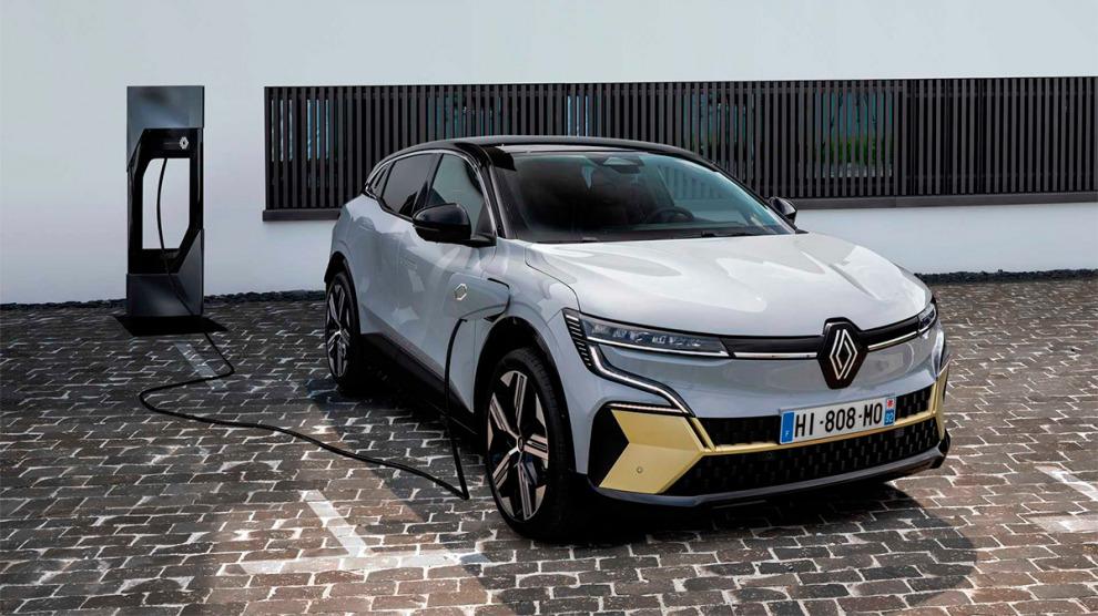 Renault превратила Megane в кроссовер на батарейках из вторсырья