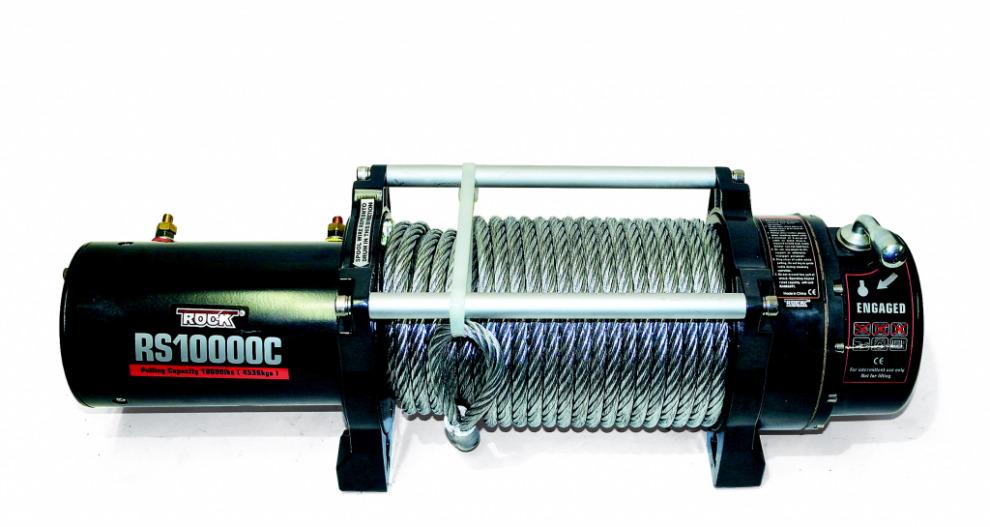 Лебёдка RockWinch RS10 000C.  Китай на уровне Warn