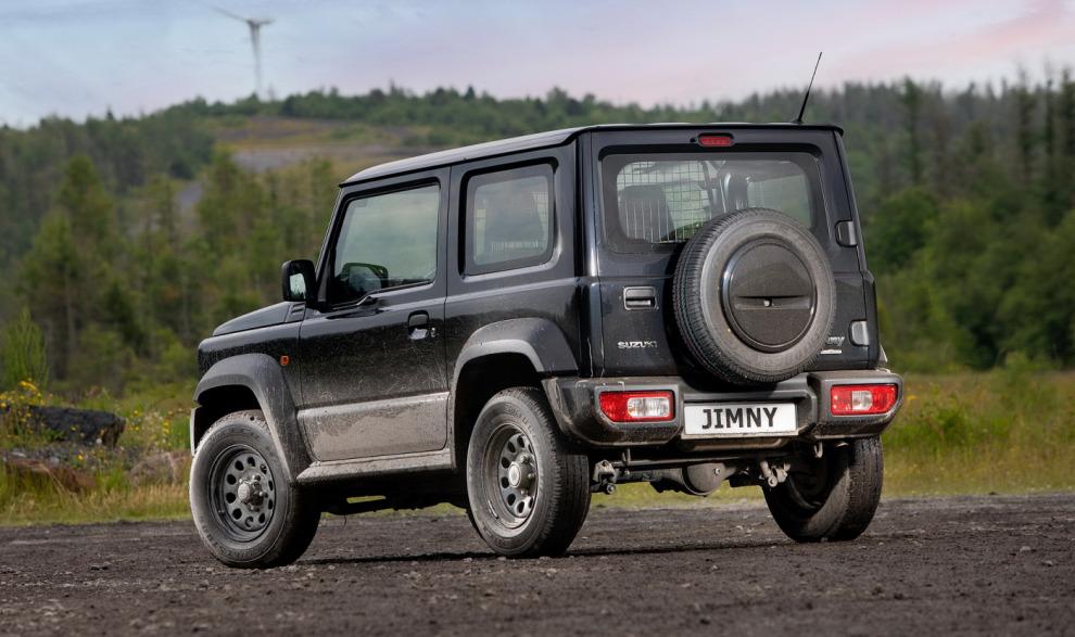 Чисто английский Suzuki. Британцы представили двухместный Jimny LCV с грузовым отсеком