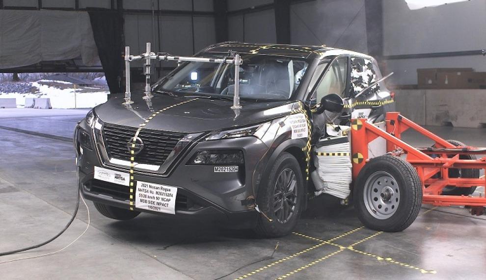 Nissan Rogue доработали после неудачного краш-теста