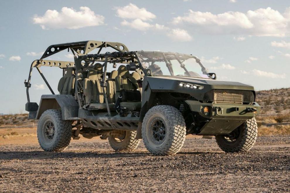Американская армия получит новый вездеход на базе Chevrolet Colorado