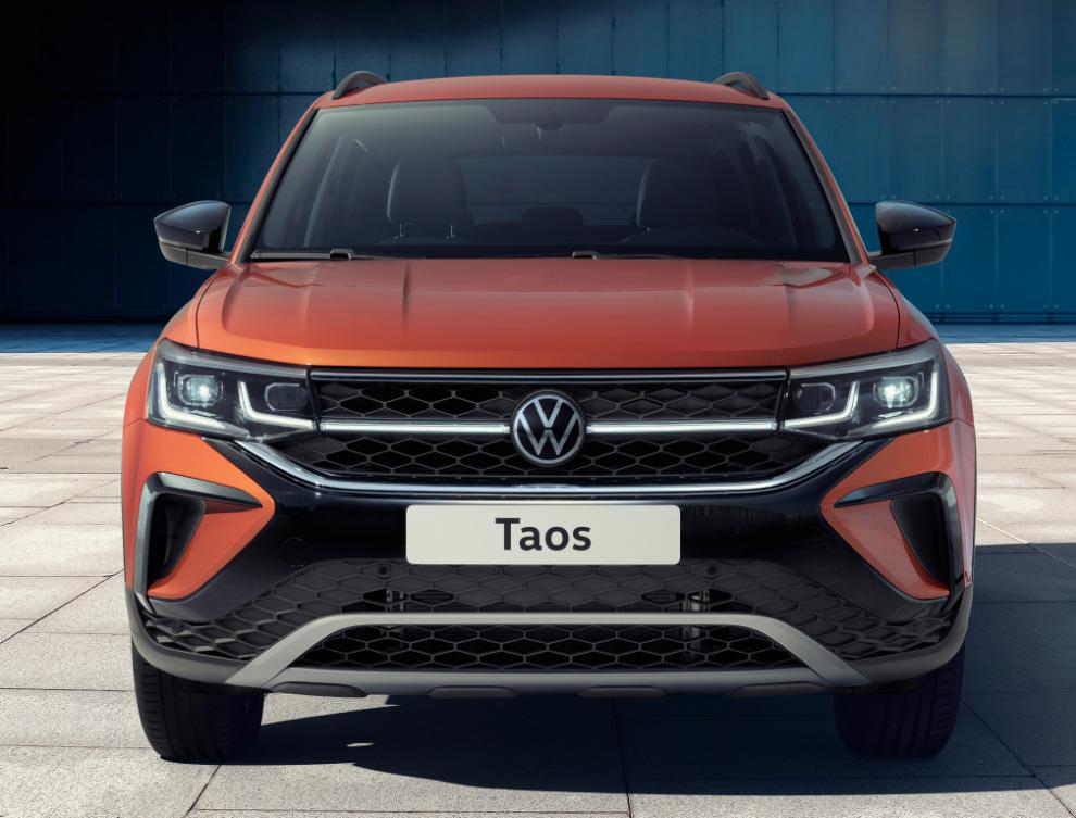 Volkswagen оценил новый кроссовер Taos в рублях