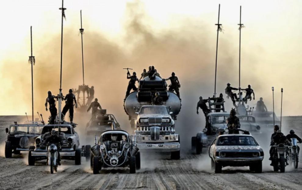 Все уцелевшие машины фильма «Безумный Макс. Дорога ярости», можно купить на аукционе
