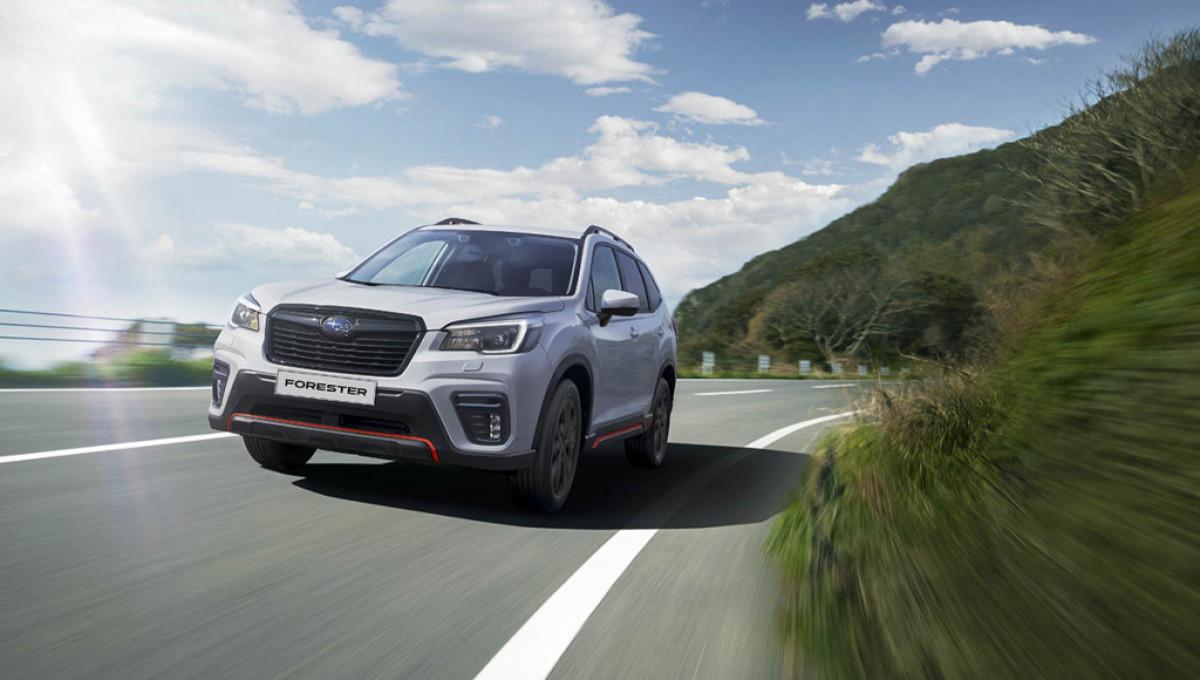 Subaru Forester Sport – яркий и практичный