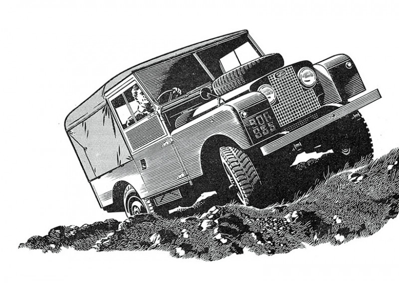 Взгляд дизайнера на характерные черты Land Rover Defender